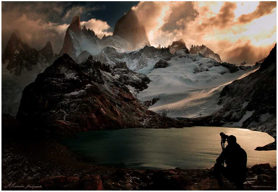 'Land Of The Dead' Patagonia landscape by Alexandre Deschaumes
