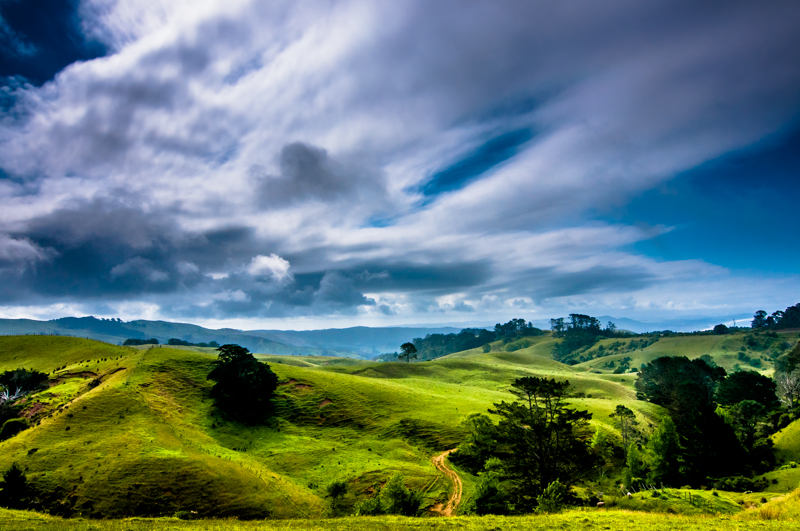 Endless - a colourfull and beautiful landscape photo from Northern New Zealand by Kimmo Savolainen Photography.